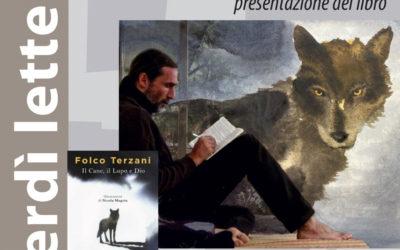"""Martedì 12 dicembre presentazione del libro """"Il Cane, il Lupo e Dio"""" di Folco Terzani"""