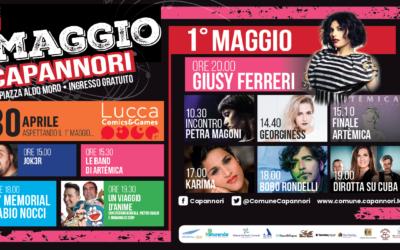 30 aprile e Concerto 1° Maggio a Capannori