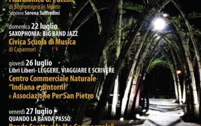 Al via la rassegna L'altro scrigno di Pandora-Cose belle a Capannori':musica, libri, magia