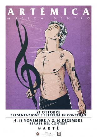 Artemica, venerdì 11 novembre la seconda serata del contest musicale
