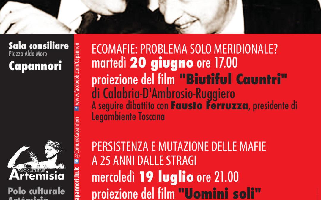Versione adatta alla stampa 'Non solo ricordare': due occasioni per riflettere e confrontarsi sul tema della mafia