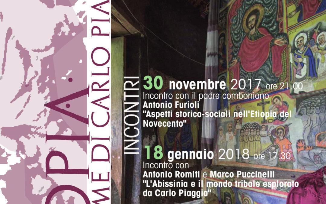 Giovedì 30 novembre ad Athena incontro con il padre comboniano Antonio Furioli
