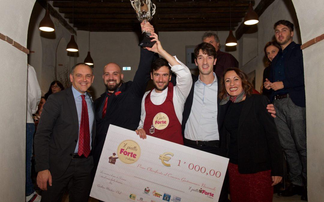"""Simone Carmassi vince la seconda edizione del concorso gastronomico nazionale """"Il piatto Forte"""""""