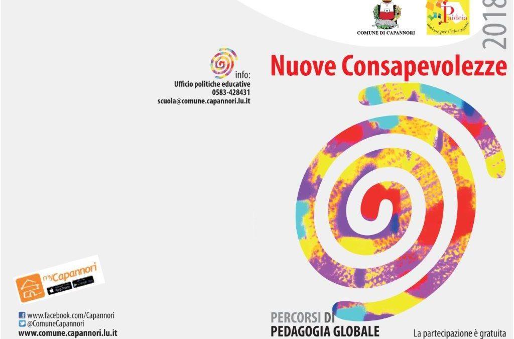 Torna la rassegna 'Percorsi di pedagogia globale' dedicata al tema nuove consapevolezze.L'anteprima del programma 2018