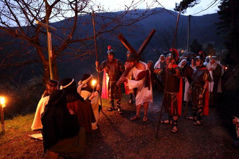 Via Crucis vivente sabato 24 marzo a Ruota