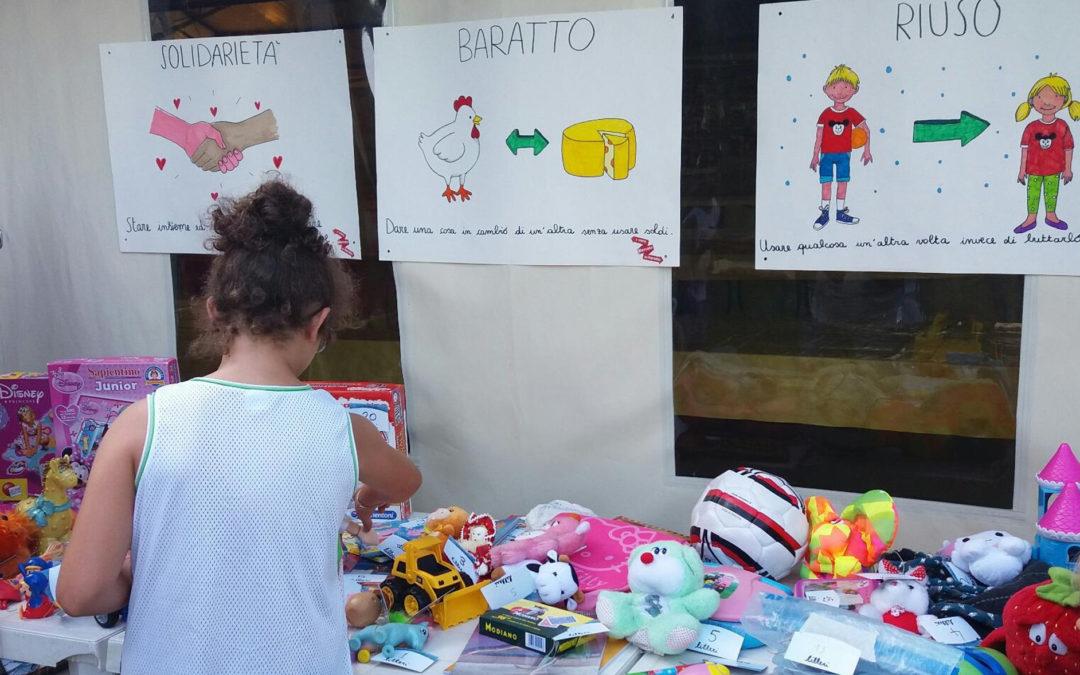 Sabato 23 giugno ad Artémisia si svolgerà l'evento 'Lillero Kids Edition', il vero mercato del baratto per bambini