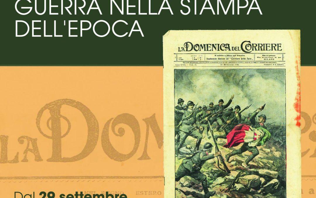 Sabato 29 settembre al museo Athena di Capannori mostra sulle immagini della Grande Guerra