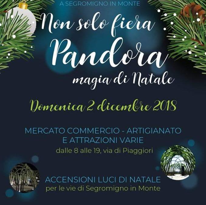 """Domenica 2 dicembre """"Non Solo Fiera _ Pandora Magia Di Natale"""""""