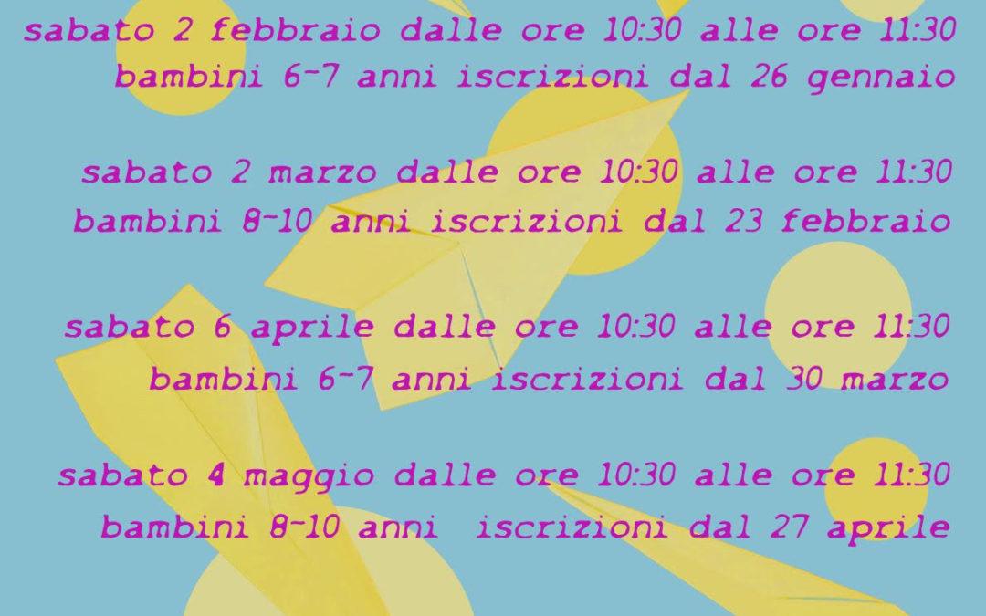 Sabato 2 febbraio laboratorio di filosofia per bambini ad Artemisia