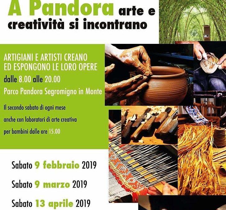 Torna 'A Pandora arte e creatività si incontrano':in programma da sabato 9 febbraio laboratori con artigiani e artisti