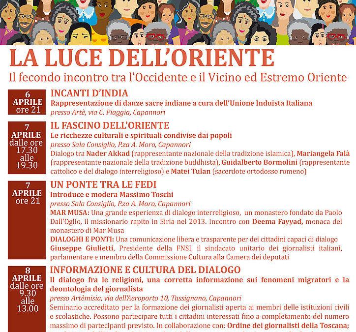 I Cammini dell'uomo, terza edizione per il Festival del dialogo interreligioso