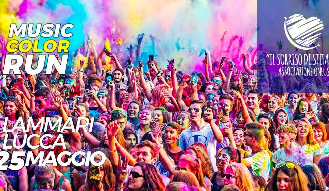 Sabato 25 maggio Music Color Run Lammari