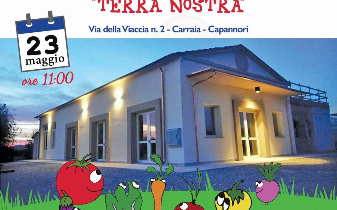 """Giovedì 23 maggio Inaugurazione Fattoria Didattica """"Terra Nostra"""""""