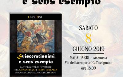 """Sabato 8 giugno Presentazione libro """"Svisceratissimi e sens'esempio"""" di Lino Dini"""
