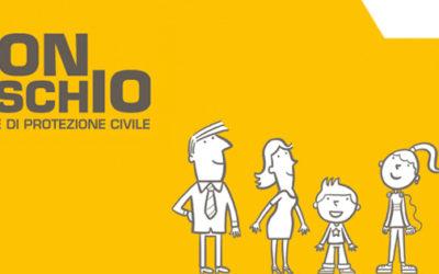 """Sabato 13 ottobre a Capannori la campagna """"Io non rischio"""" per le buone pratiche della protezione civile"""