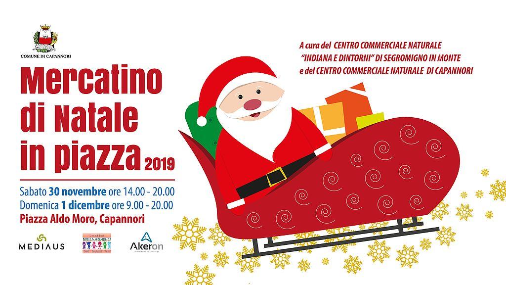 Iniziative di Natale a Capannori. La nuova piazza Aldo Moro ospiterà per la prima volta un mercatino natalizio