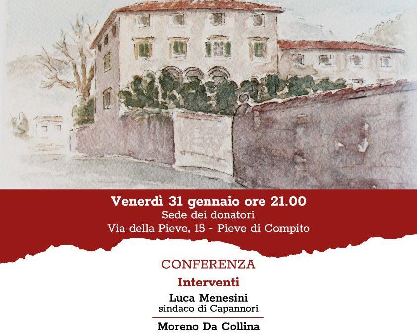 """Venerdì 31 gennaio a Pieve di Compito: """"Compitese 1944. Storie dell'occupazione tedesca"""""""