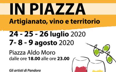 """""""Capannori in piazza"""": a Capannori due fine settimana all'insegna dell'artigianato, del vino e delle eccellenze del territorio"""
